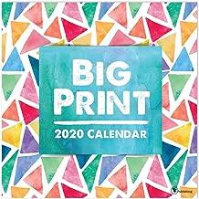 2020 Big Print Large Grid Wall Calendar