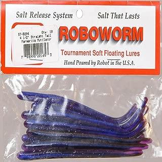 Roboworm ST-B296 4.5 in. Straight Worm - Margarita Mutilator