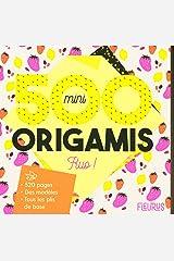 500 mini origamis fluo ! Broché