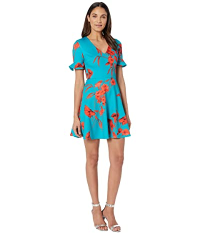 Ted Baker Chynaa Dress (Turquoise) Women