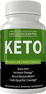 Evolution Lean Pro Keto Weight Loss Pills - Keto BHB Capsules - Diet 60 Capsules Advanced Weight Loss 800 mg Formula Supplements - Evolution Lean Pro Pills BHB Exogenous Ketones Keton Salts Tablets