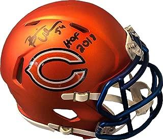 chicago bears blaze mini helmet