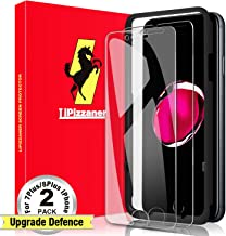Lipizzaner iPhone 8 Plus Screen Protector [2 Pack] iPhone 7 Plus Screen Protector [Tempered Glass] [HD Clarity] [Case Friendly] Tempered Glass Screen Protector For Apple iPhone 8 Plus, Screen Protector For Apple iPhone 7 Plus (5.5 Inch)- Clear