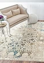 Persian-Rugs 6495 Distressed Cream 8x10 Area Rug Carpet Large New