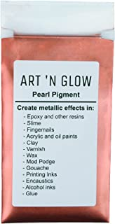 Mica Pearl Pigment Powder (Rose) - (.88 Ounce/25 Grams) - 10+ Colors Available