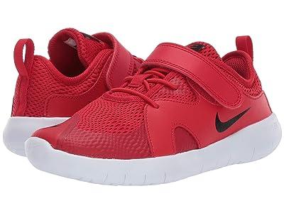 Nike Kids Flex Contact 3 (Little Kid) (Bright Crimson/Black/Vast Grey/White) Kids Shoes