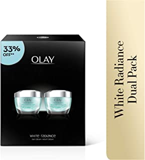 Olay White Radiance Beauty Box: Protective Cream + Night Restoring Cream