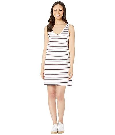 Lilla P Striped 1x1 Rib Tank Dress (Stripe) Women