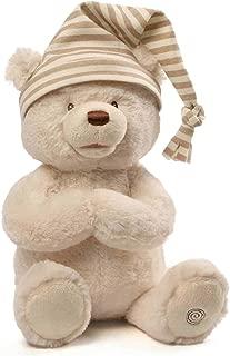 GUND Animated Goodnight Prayer Bear Spiritual Plush Stuffed Animal, 15
