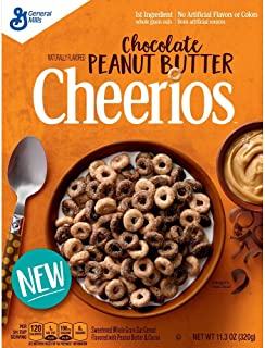 Chocolate Peanut Butter Cheerios Cereal, 11.3 oz (Pack of 2)