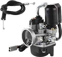 Wilktop - Carburador de repuesto de 17,5 mm con paso de 17,5 mm para la mayoría de scooters de 50 cc