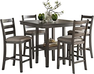 Amazon.com: Grey - Table & Chair Sets / Kitchen & Dining ...