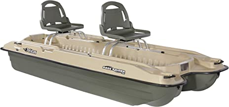 Pelican - Boat BASS Raider 10E - 2 Person Fishing Boat - 10 ft -Comes with Swivel Fishing Rod Holder - Prewired Motor Mount