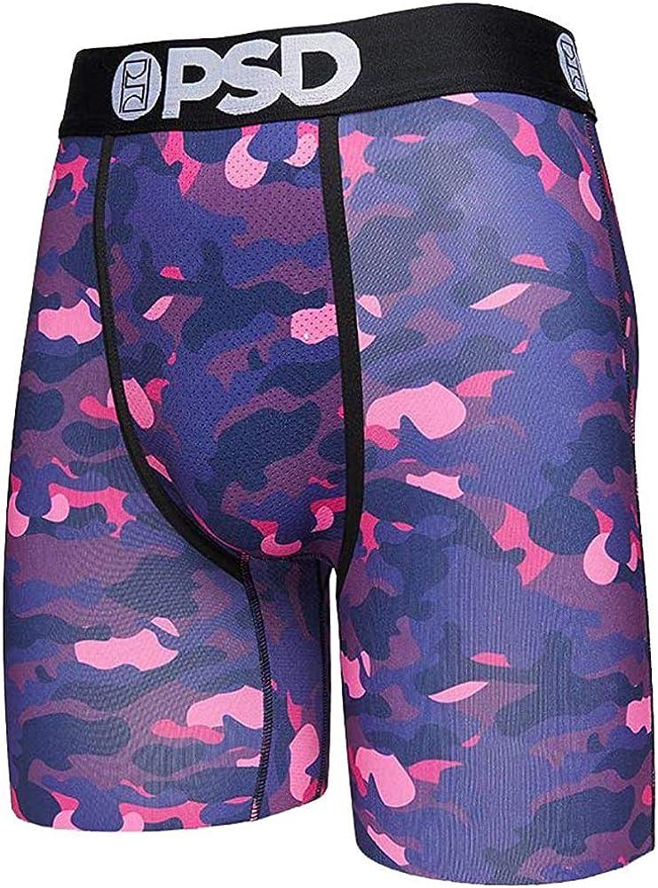 Men's Brief Underwear Bottom (Purple/Ourple Camo, L)