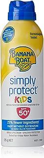 Banana Boat Simply Protect Kids Clear Sunscreen Spray, 175g