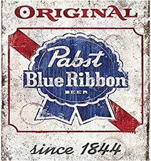Easy Painter Beer Retro Metal Tin Sign Poster Home Bar Plate Cafe Pub Motel Art Wall Decor 11.8x11.8 inch
