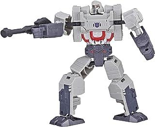 Figura Transformers Authentics Alpha, conversão robô a tanque em 12 passos - Megatron - E4302 - Hasbro