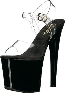 Pleaser Women's Taboo-708CB Platform Sandal