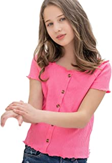 freedomer Cipher-Gravity Falls Girls Child Short Sleeve T Shirt Leaf Tees