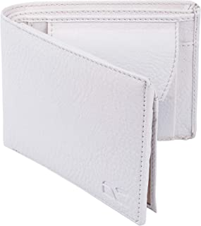 Dezire Crafts Men Formal, Casual Black Artificial Leather Wallet (6 Card Slots) (White)