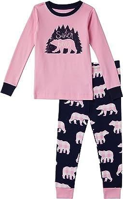 Sister Bear Pajama Set (Toddler/Little Kids/Big Kids)