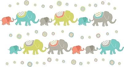 Wall Pops WPK0841 WPK0841 Tag Along Elephants Wall Art Decal Kit