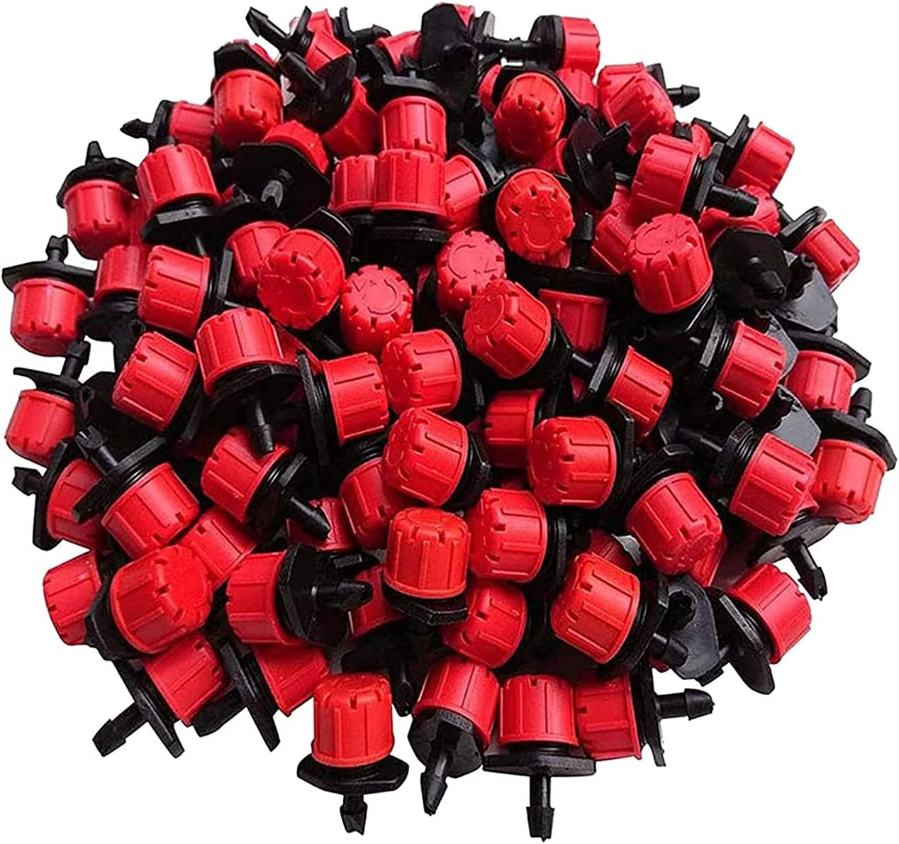 SDFH 100 Pcs Adjustable Irrigation 360 Drippers Sale Special Price Ranking TOP15 Sprinklers Degre