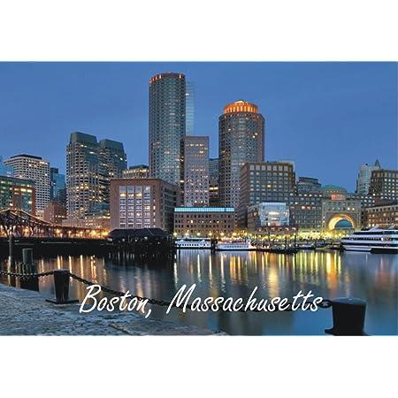 Boston Jewelry Boston Gifts Boston MA Boston Souvenir Boston Map Boston Massachusetts Skyline Minimalist Stacking Ring