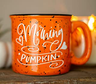 Pumpkin Campfire Mug - Fall Decor - Rustic Decor - Good Morning Pumpkin - Fall Coffee Mug - Pumpkin Spice Latte - Gift for Friend