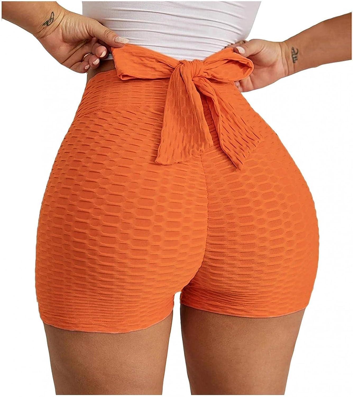 Hotkey Yoga Leggings, High Waist Butt Lifting Yoga Pants Women's Fashion Bowknot Design Cut-Out Sporty Workout Leggings