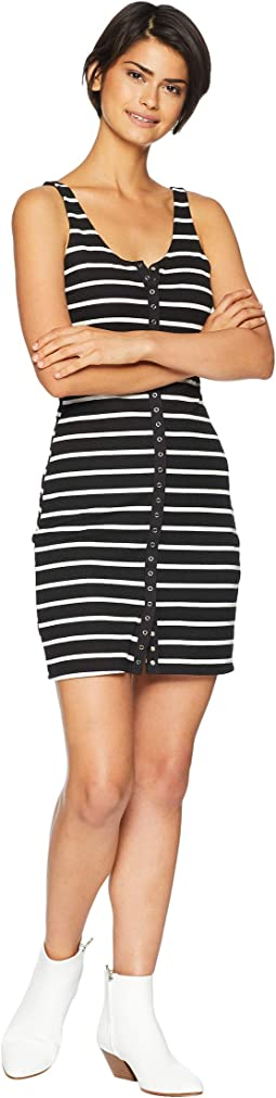 Black/White Striped