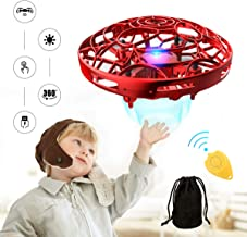 $20 » Hands Operated Drone for Kids and Adults, Pickwoo P10 Hands-Free Mini Drone Helicopter, Mini UFO Drone with LED Light, Easy Indoor Outdoor Flying Ball, Drone Toys for Boys Girls