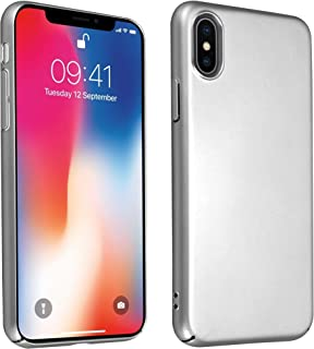 d58b26a5474 Cadorabo Funda para Apple iPhone X/XS en Metal Plato - Cubierta Protección  de Plástico