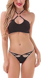 Lola Dola Padded Polyamide Embellished Women Bikini Bra Panty Lingerie Set