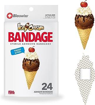 This Cute Novelty Ice Cream Bandaid