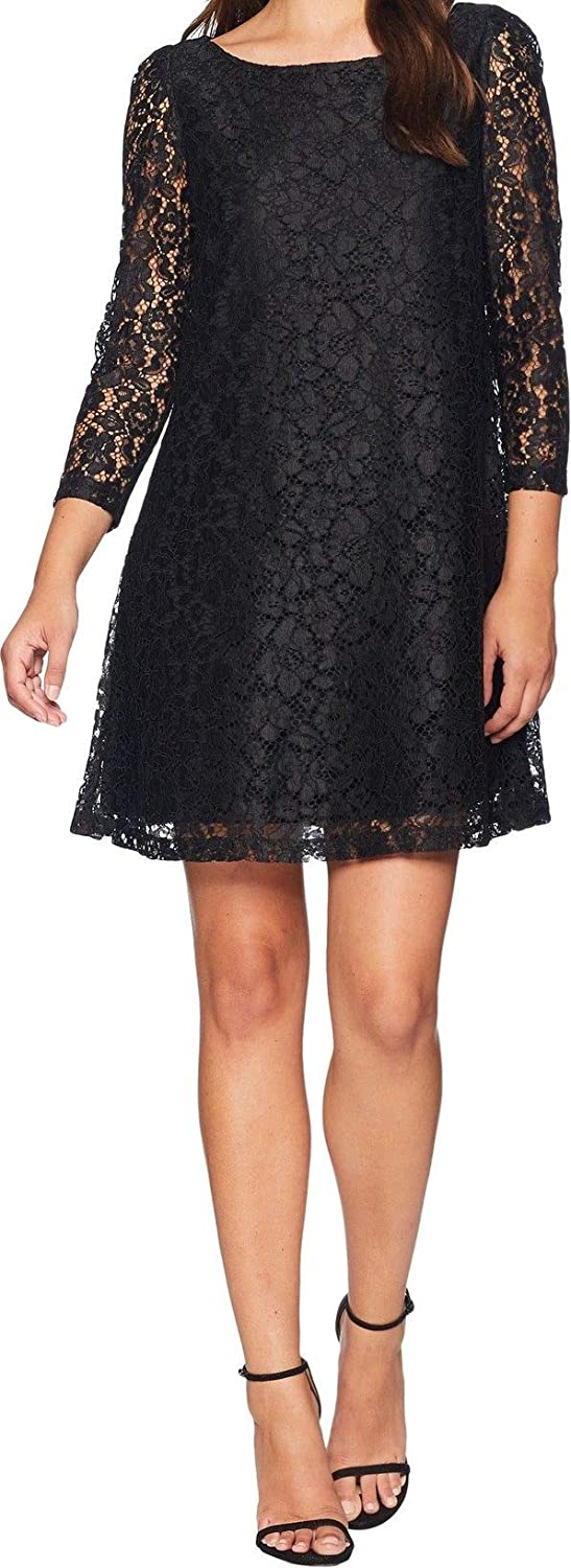 Max 42% OFF Tahari by Arthur S. Levine Women's Daily bargain sale Long Dress Shift Lace Sleeve