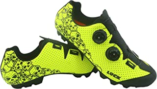 LUCK Zapatillas MTB Galaxy Calaveras. Zapatos Ciclismo Montaña para Hombre y Mujer. Suela de Carbono. Doble Cierre Rotativ...