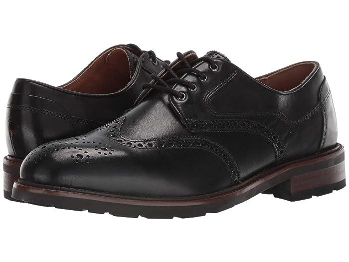 JandM EST. 1850  Fullerton Wing Tip (Black) Mens Shoes