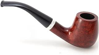 Mr. Brog Full Bent Tobacco Pipe - Model No: 82 Consul Mahogany - Mediterranean Briar Wood - Hand Made