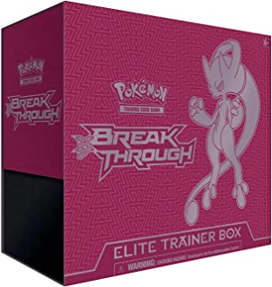 Pokemon TCG: X&Y 8 Breakthrough Elite Trainer Box-Mewtwo Y X&Y 8 Y- Over 65 Cards!