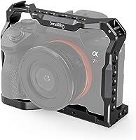 SMALLRIG Light Cage, Hafif Cage, Sony A7 III A7R III A9-2918 için kamera kafesi