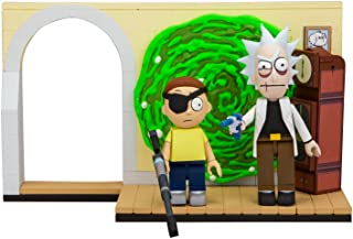 McFarlane Toys Rick & Morty Evil Rick & Morty Small Construction Interlocking Building Set