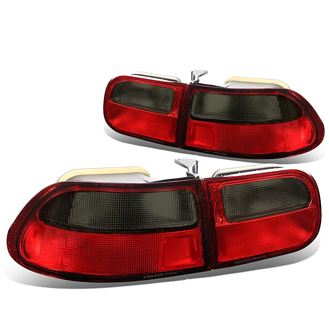 DNA Motoring TL-RD-SM-HC923 Tail Light Assembly (Driver & Passenger)