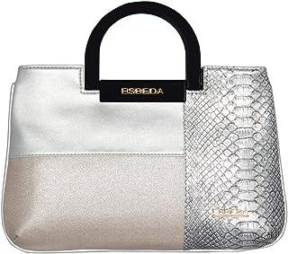ESBEDA Silver Color Medium Size Cuero Armbag For Women