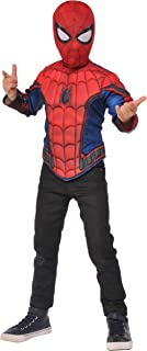Imagine by Rubie's Spider-Man Homecoming Boxed Muscle Chest Shirt Set, Small