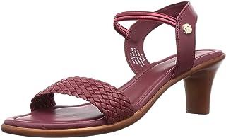 BATA Women's DEVA Red Fashion Sandals-6 (6615912)