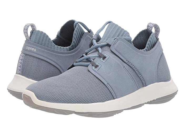 Hush Puppies  World (Dusty Blue Knit) Womens Shoes