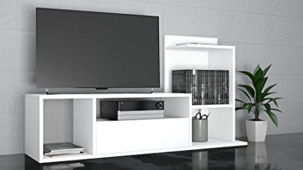 Moderno Porta Tv Originali.Amazon It Mobili Porta Tv Bianchi