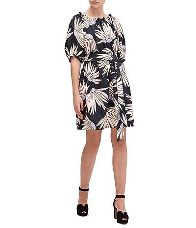 Kate Spade New York Falling Flower Dress (Black) Women
