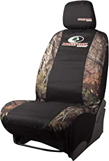 Mossy Oak Camo Seat Cover, Low Back with Head Rest, Break-Up Country, Single